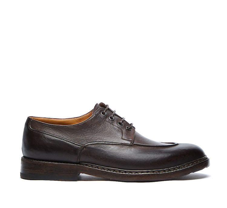 Barracuda vintage lace-ups in luxury calf leather
