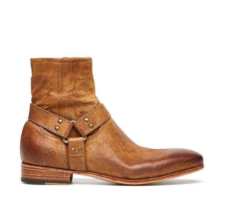 Barracuda Vintage cowboy boots in exquisite calfskin