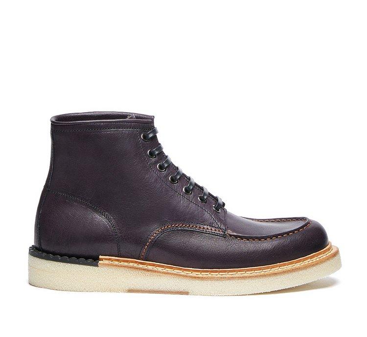 Barracuda calfskin boots