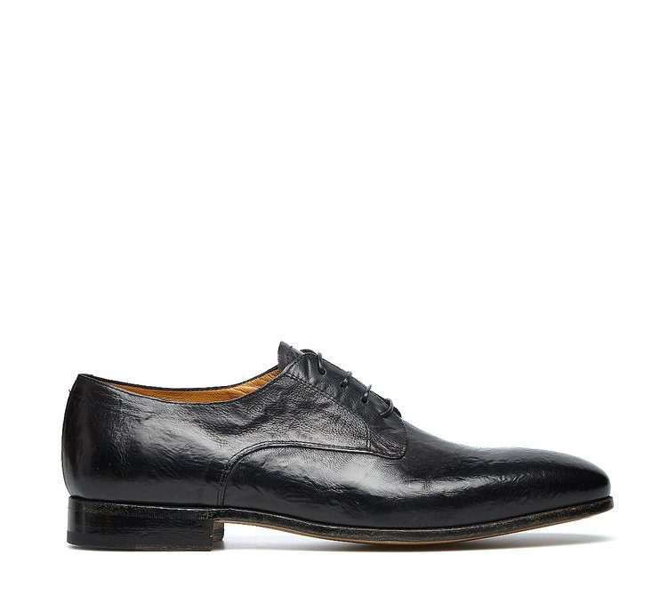 Barracuda lace-ups in soft calfskin