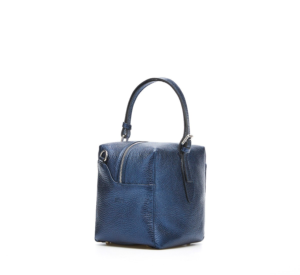 Pannier bag in leather