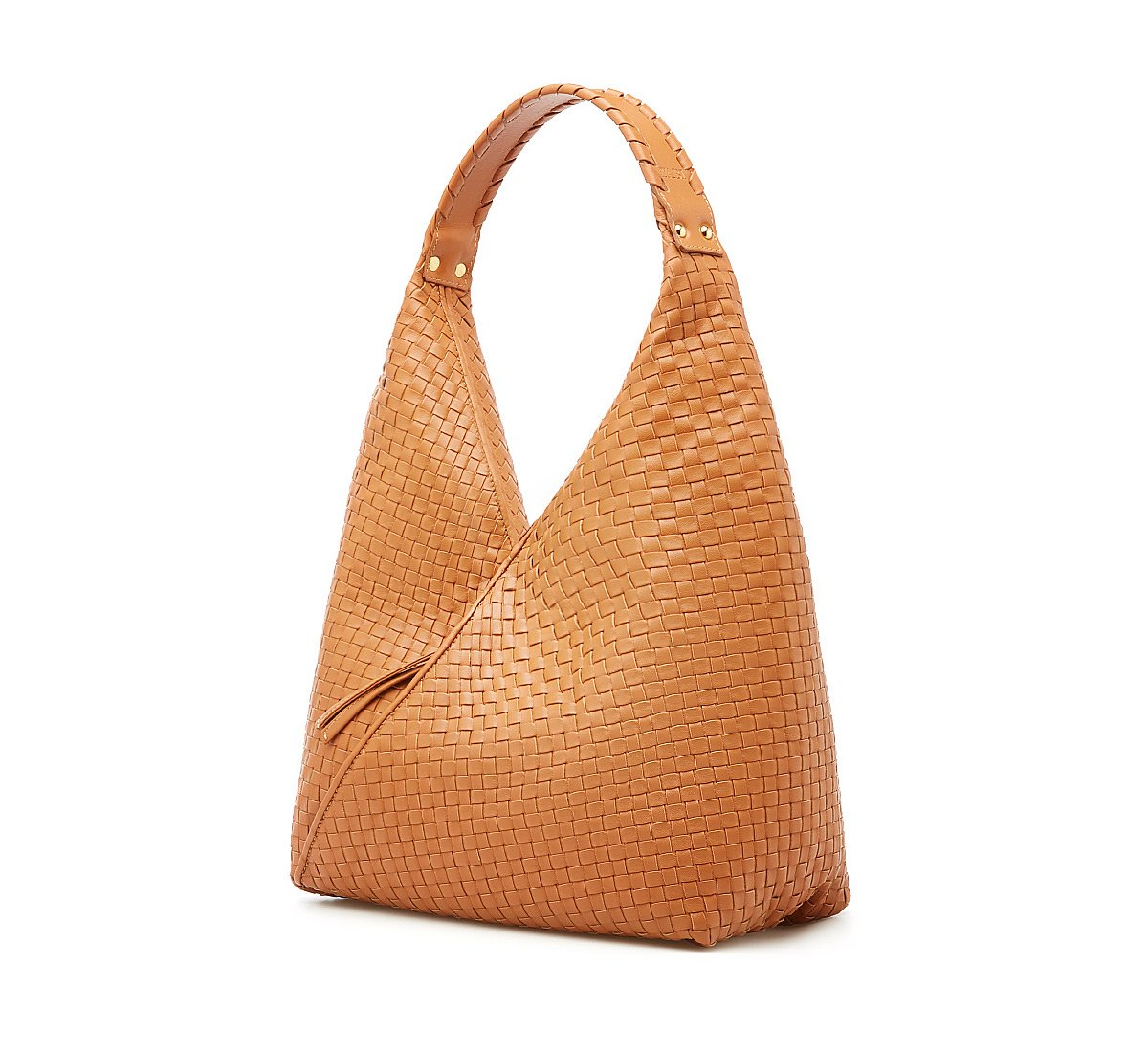 Shopper bag in calfskin