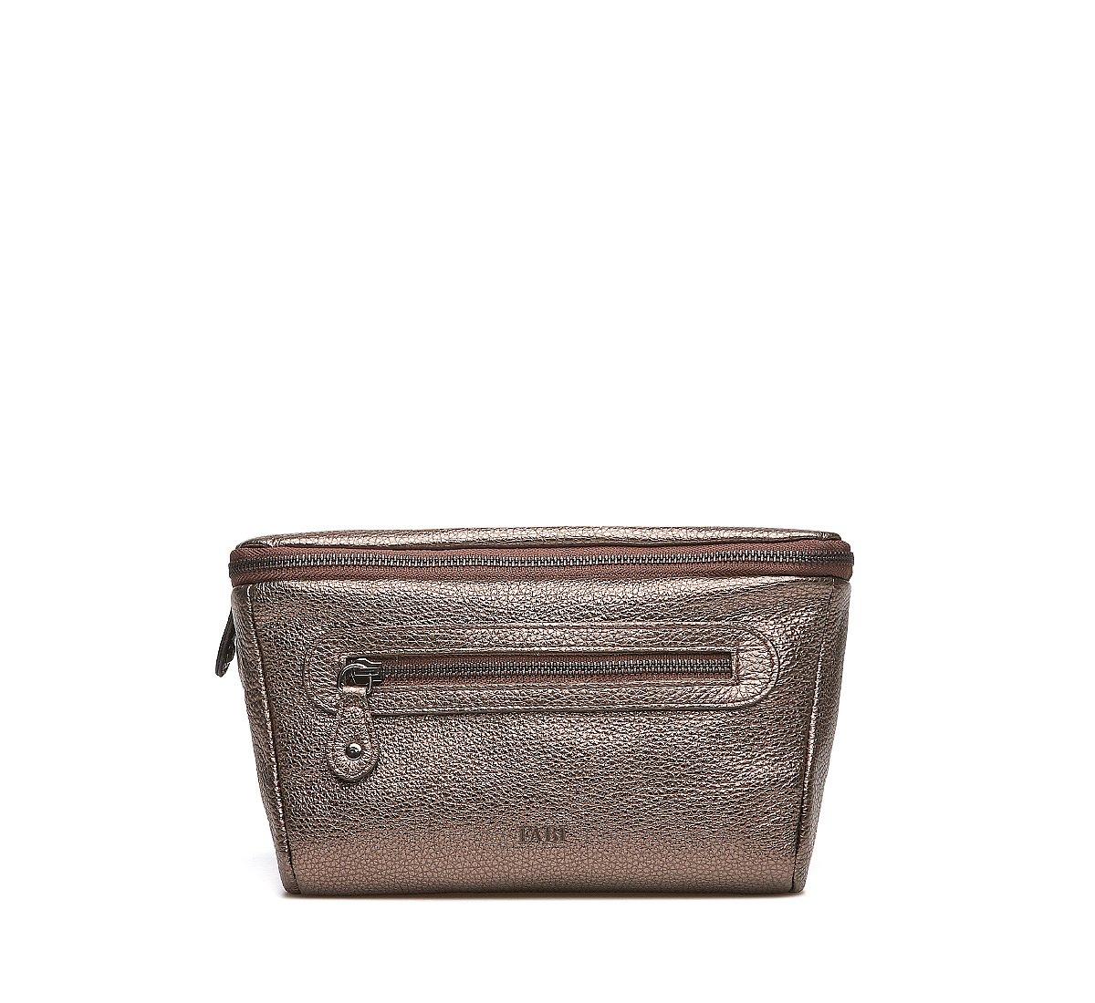 Поясная сумка из ламинированной кожи