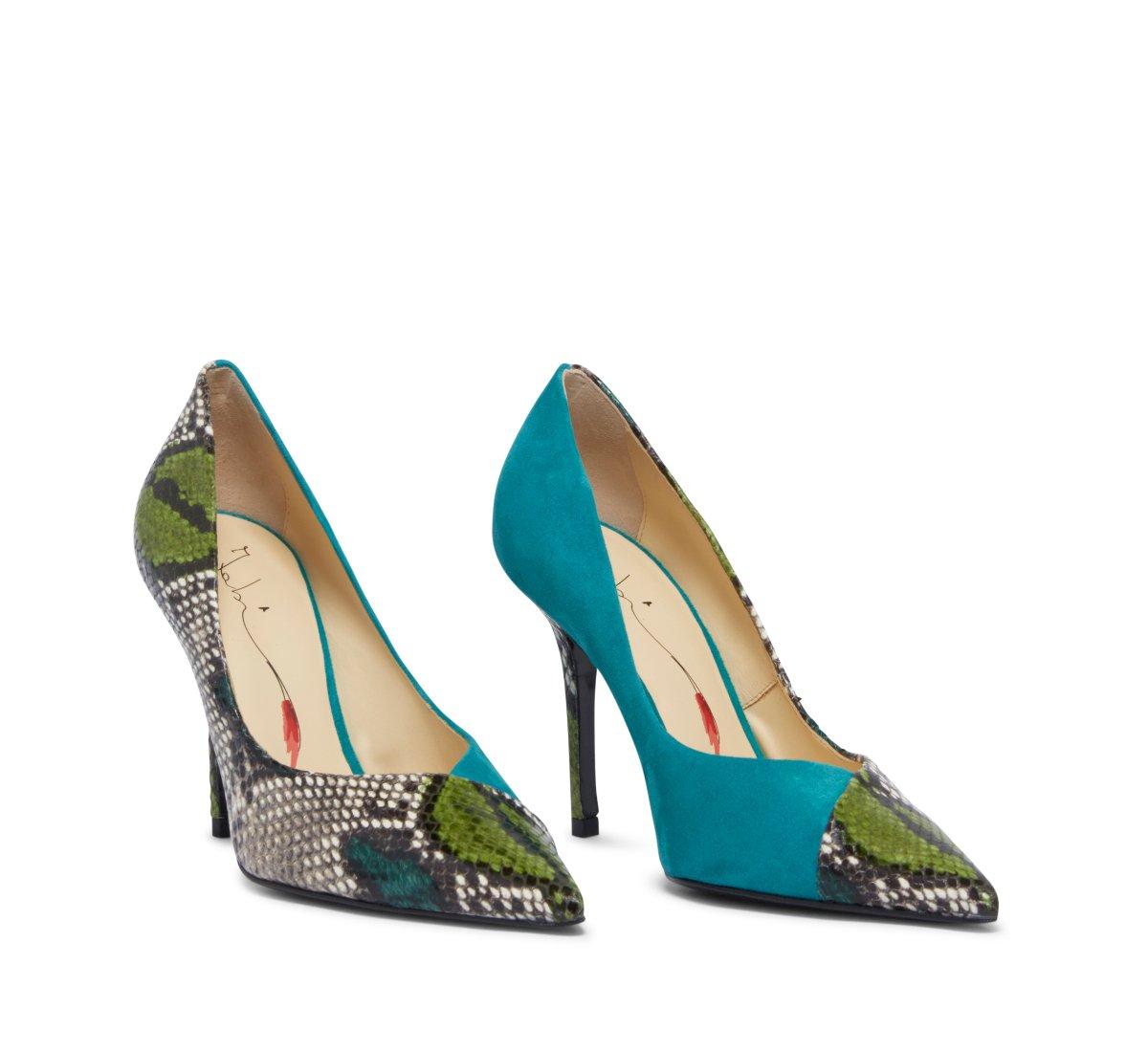 Туфли-лодочки Fabi Classic из мягкой замши