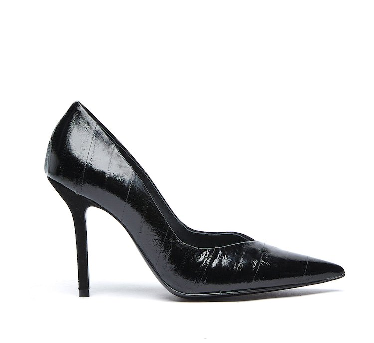Pumps in soft calf leather