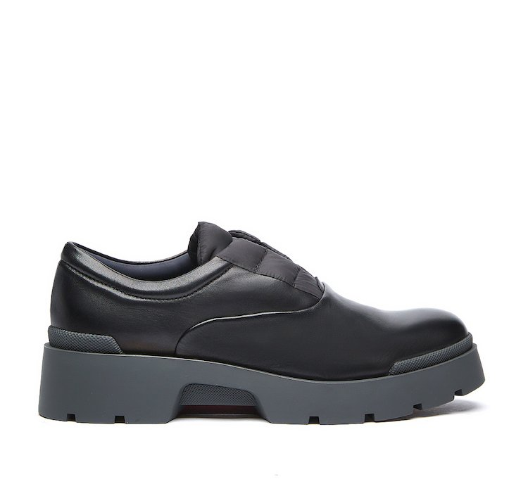 Oxford shoe in soft nappa