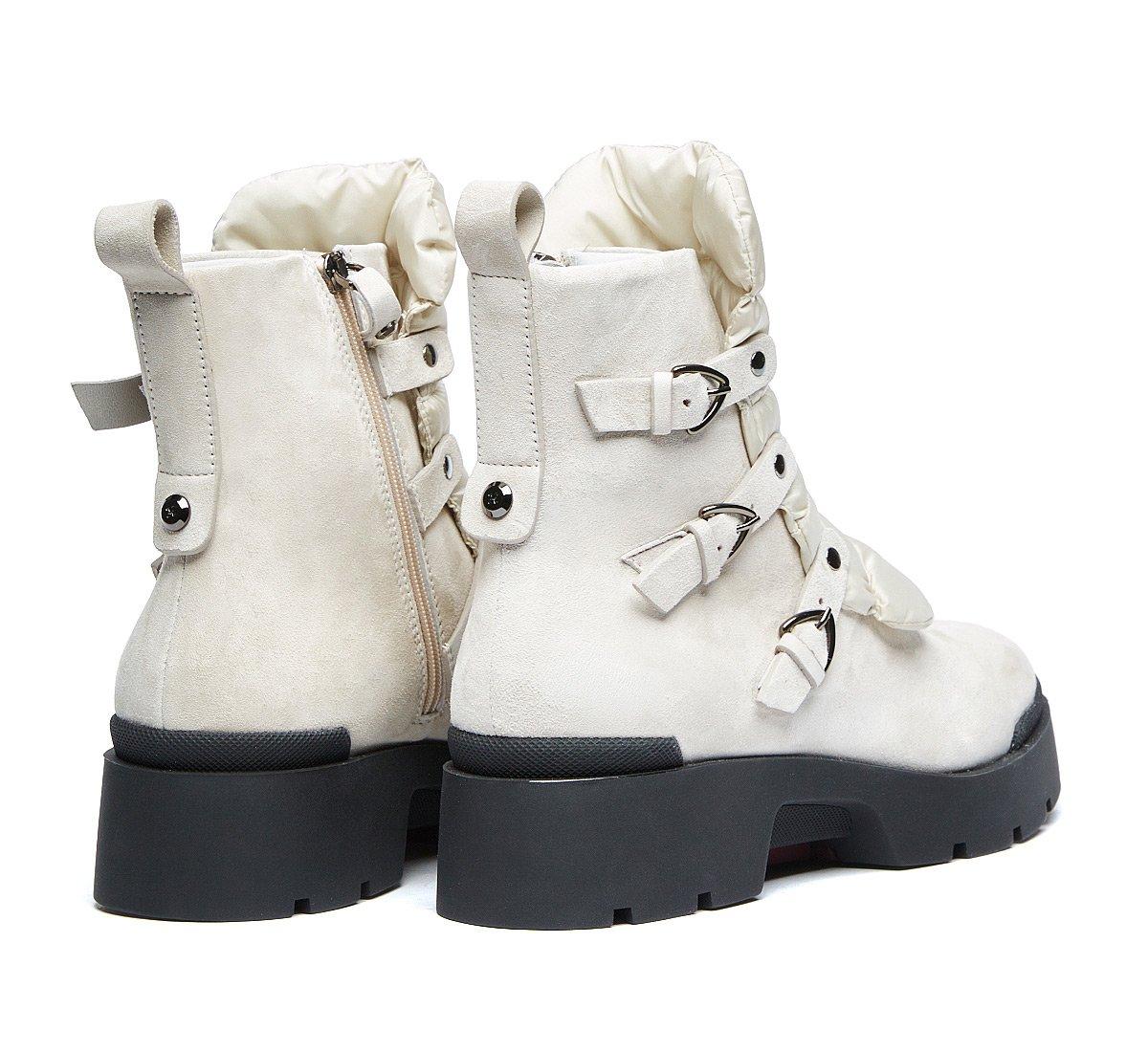 Непромокаемые ботинки из мягкой телячьей кожи