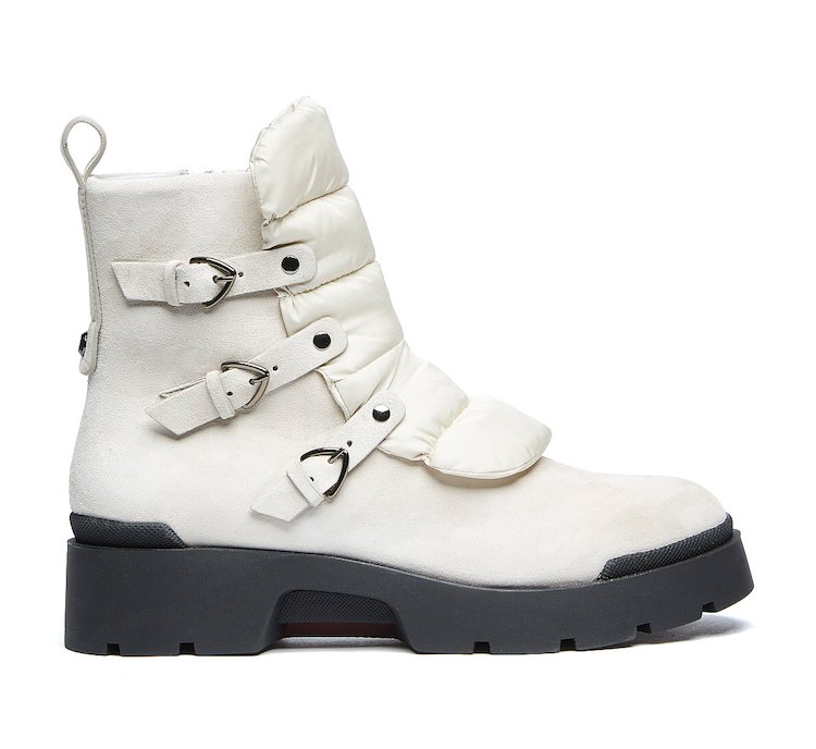 Commando boots in soft calf leather