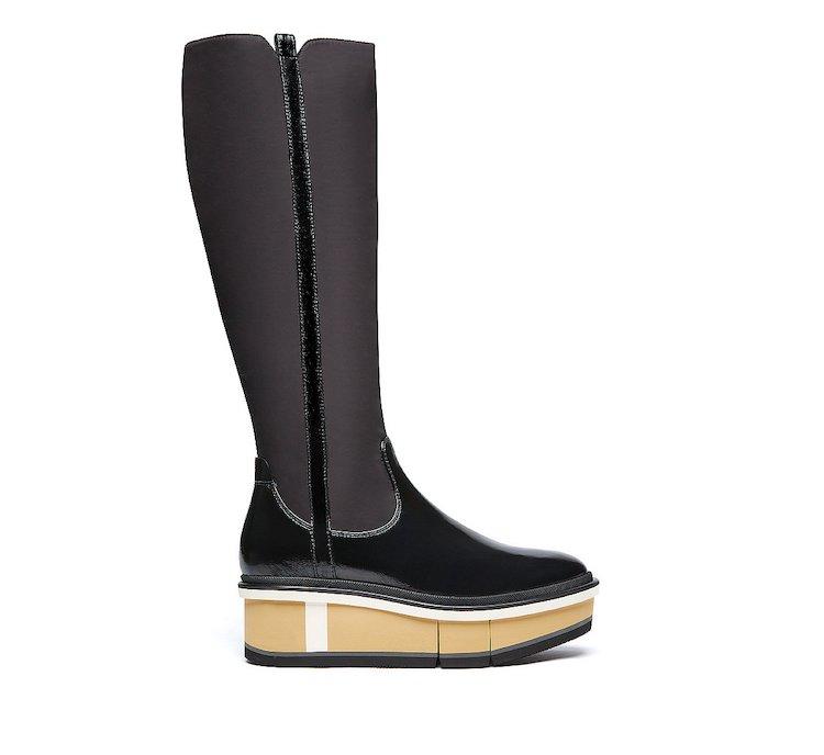 Fabi MICRO boots in calf leather