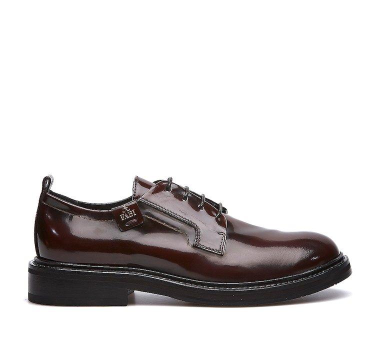 Ботинки на шнурках из высококачественной телячьей кожи