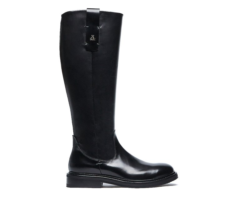 Fabi classic boots in soft calf leather