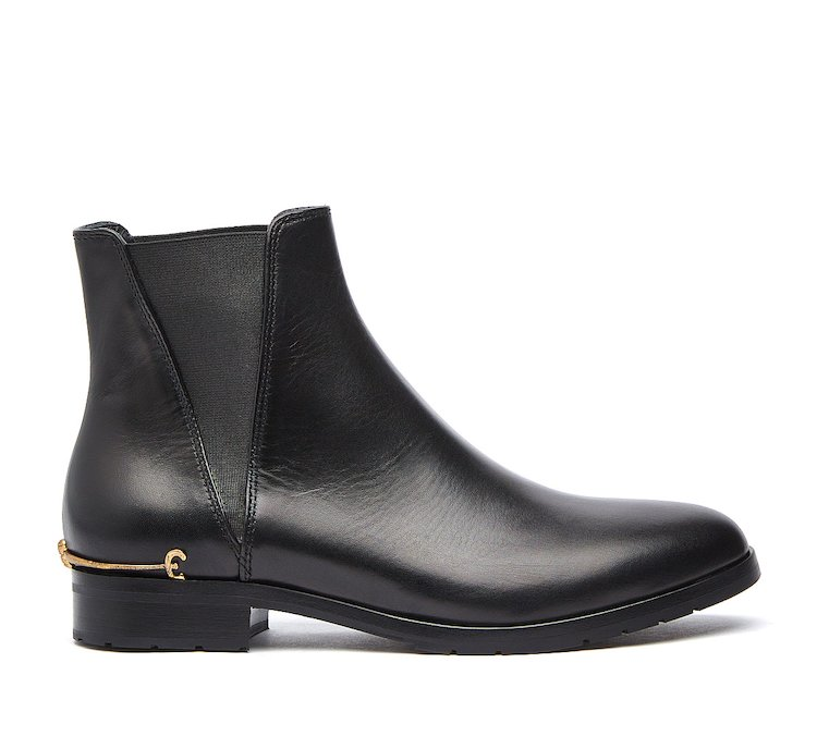 Beatle boot in luxury calf leather