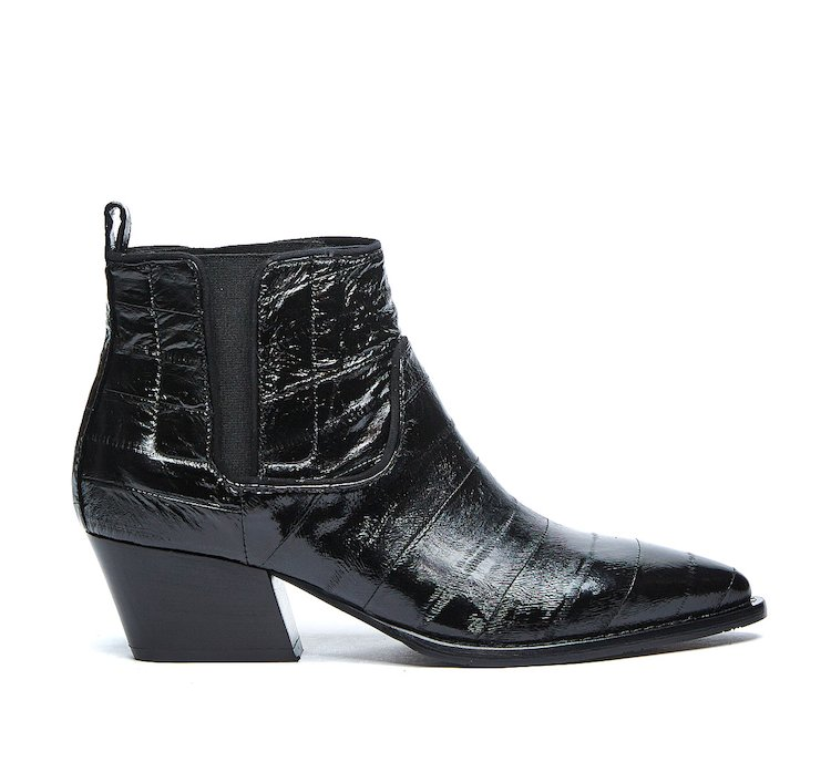 Texan ankle boots in luxury calf leather