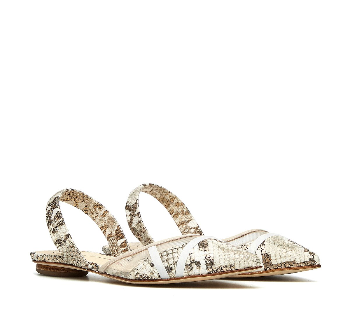 Slingback in vitello