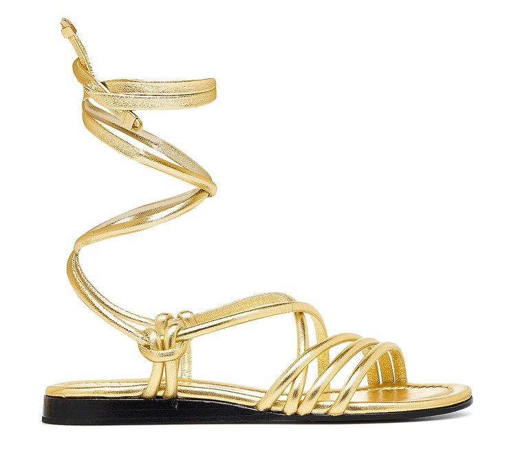 Sandals in calfskin
