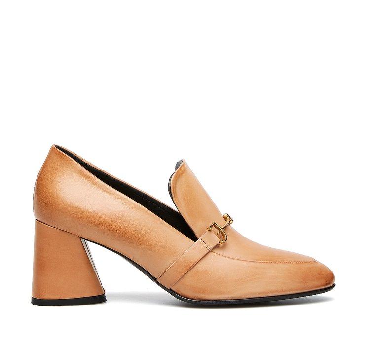 Туфли-лодочки из телячьей кожи
