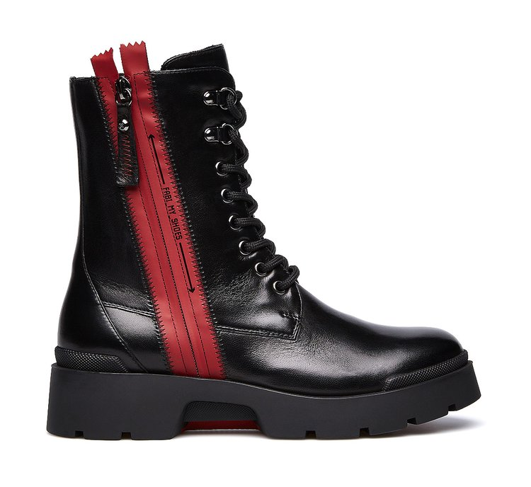 Fabi classic calfskin Beatle boots