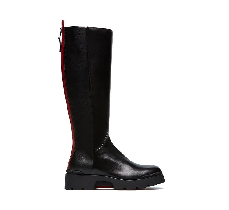 Boots in ultra-soft nappa leather