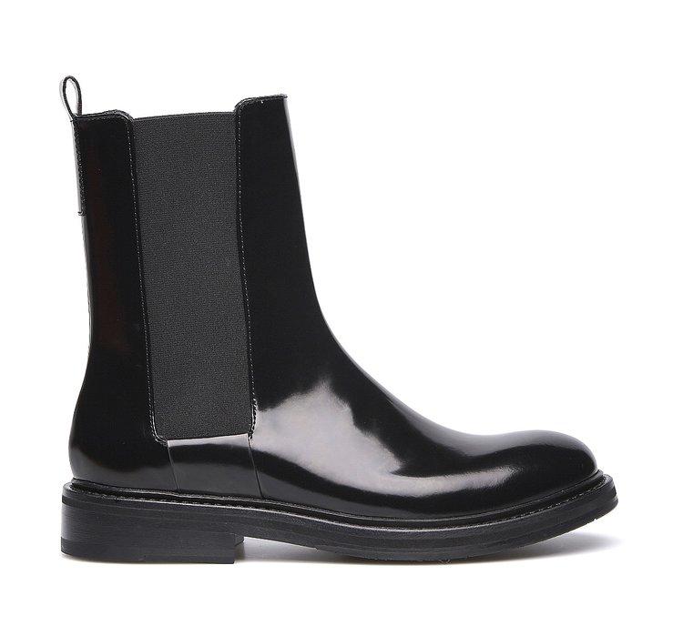 Fabi classic Beatle boots in brushed calfskin