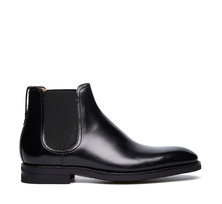 Beatle boots in exquisite calfskin with Flex Goodyear construction
