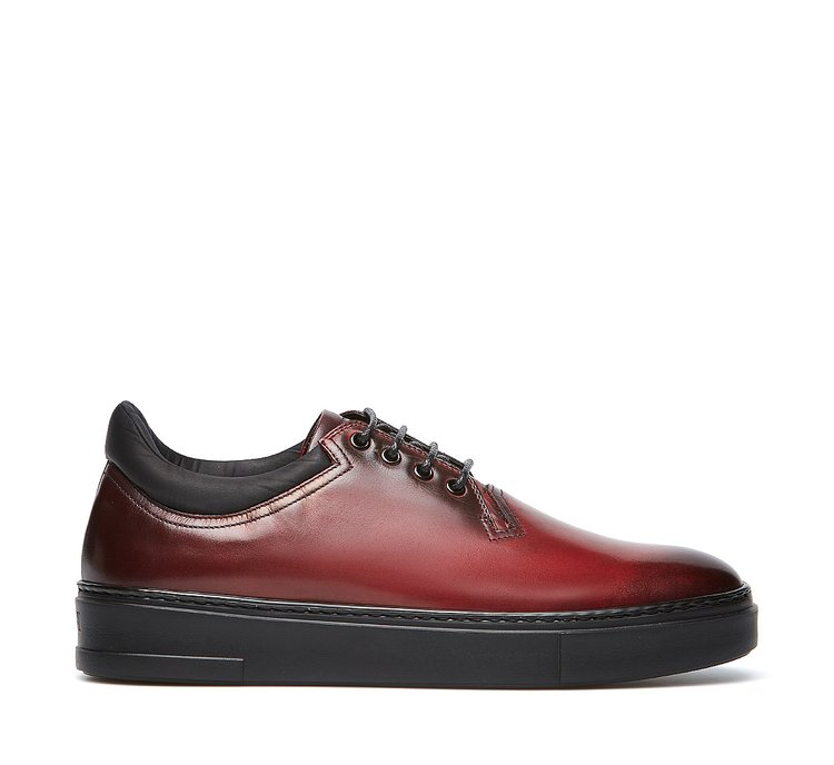 Fabi lace-ups in soft calfskin
