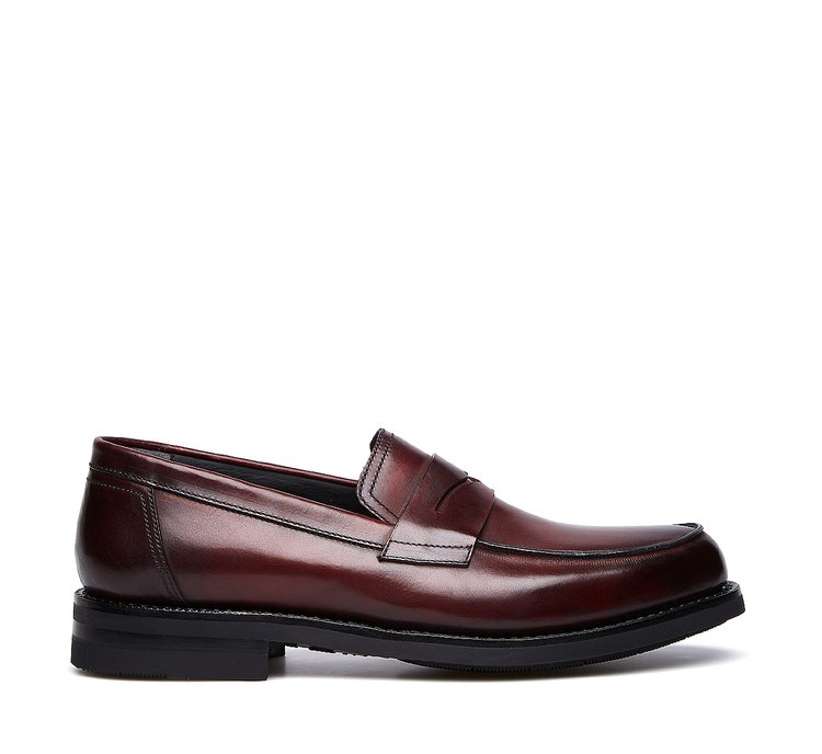 Moccasins in exquisite calfskin with Flex Goodyear construction