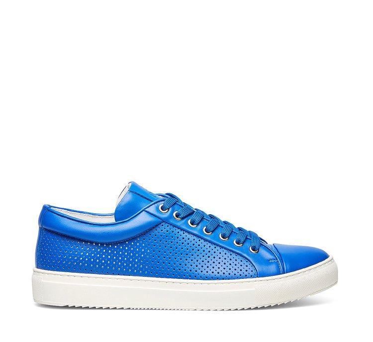 Fabi calfskin sneakers with openwork