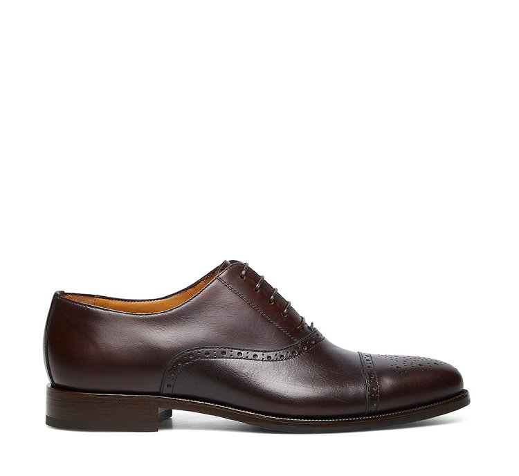 Туфли-оксфорды из телячьей кожи