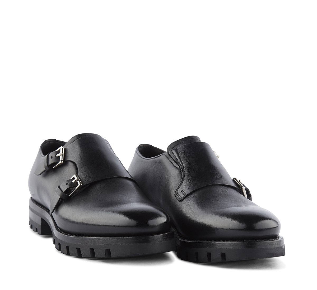 Double monk Flex Goodyear in vitello