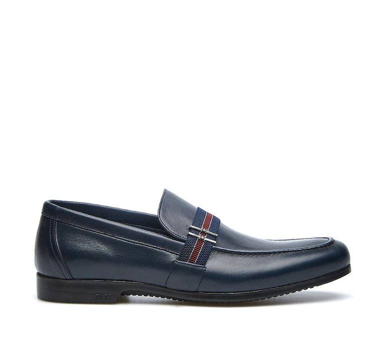 Loafer in soft nappa leather