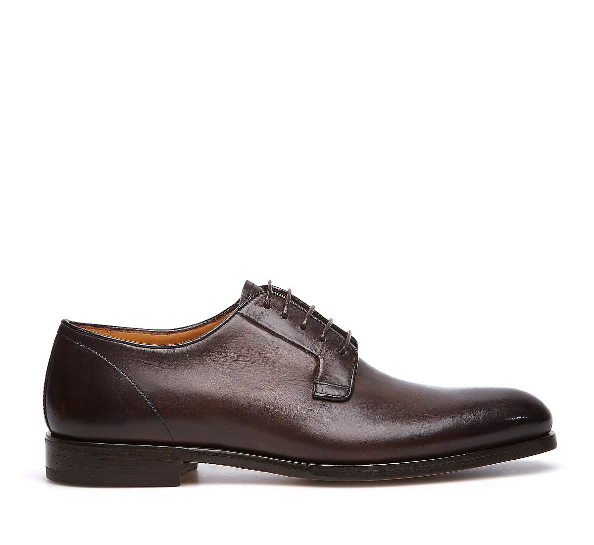Derby in calf leather