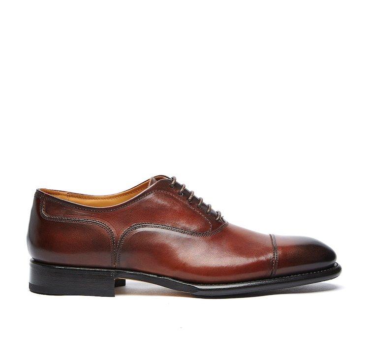 Оксфорды на шнуровке из телячьей кожи