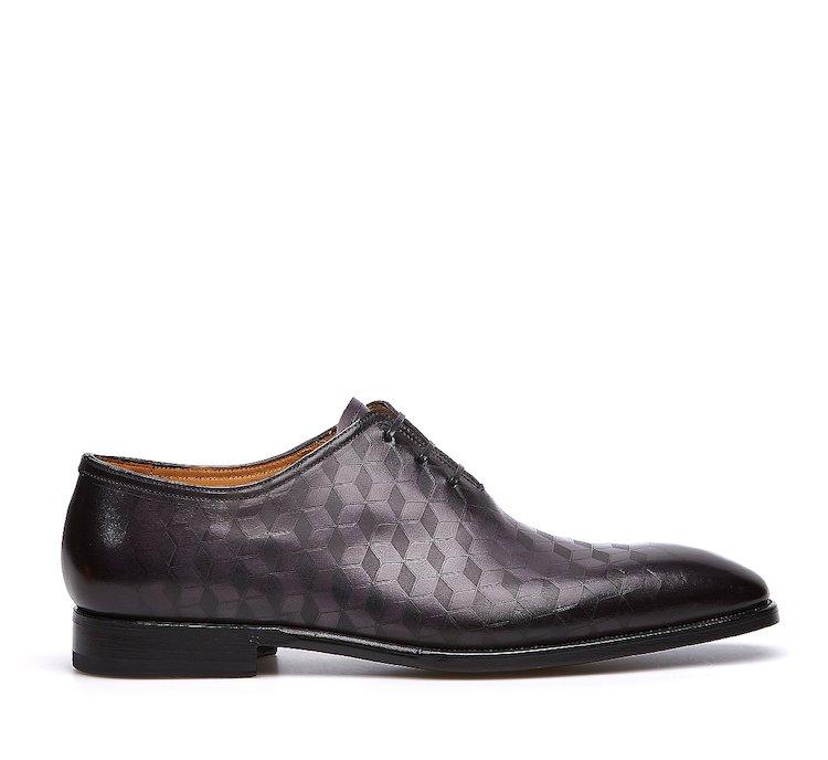 Туфли на шнуровке Fabi Flex из ценной принтованной телячьей кожи