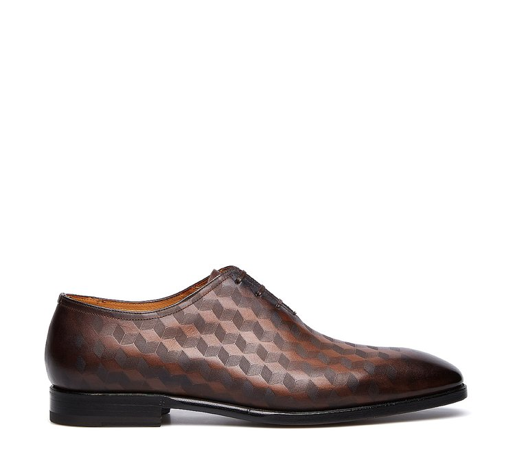 Exquisite calfskin Oxfords