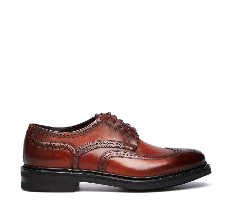 Fabi Oxfords in exquisite calfskin with Flex Goodyear construction