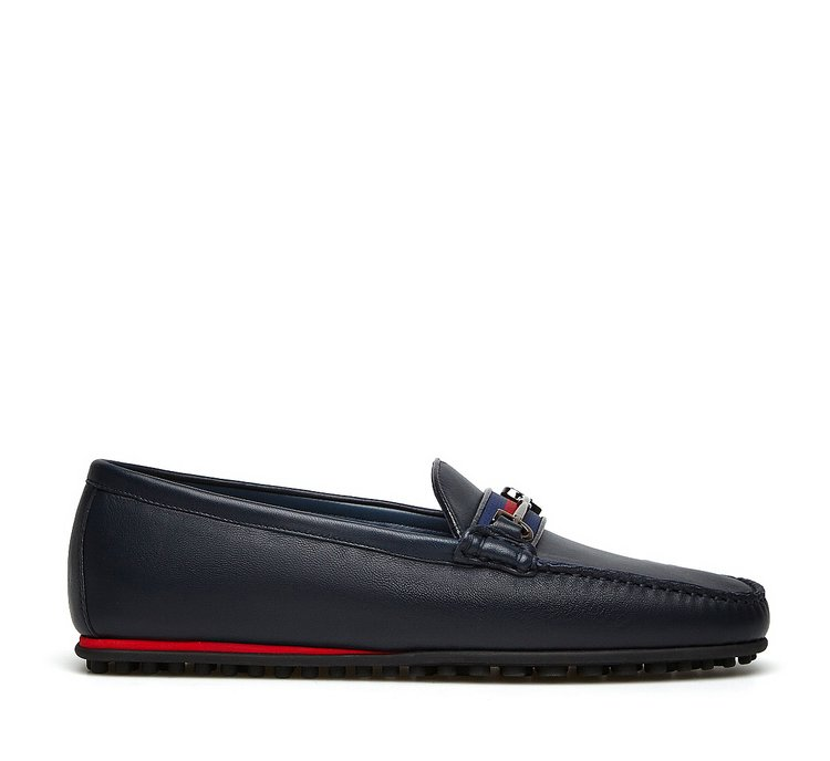 Fabi iconic moccasins in soft nappa