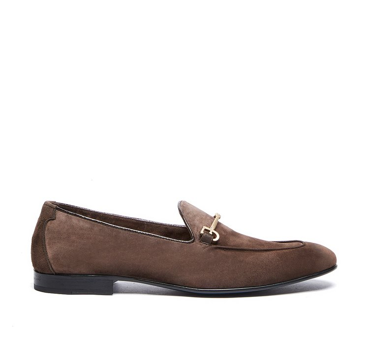 Fabi Classic moccasins in soft unlined calfskin