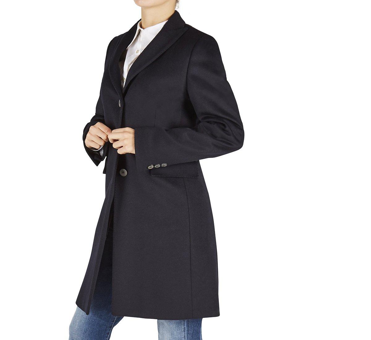 Cappotto in lana e cachemire