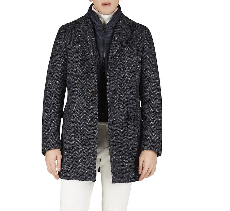 Cappotto in calda e morbida lana