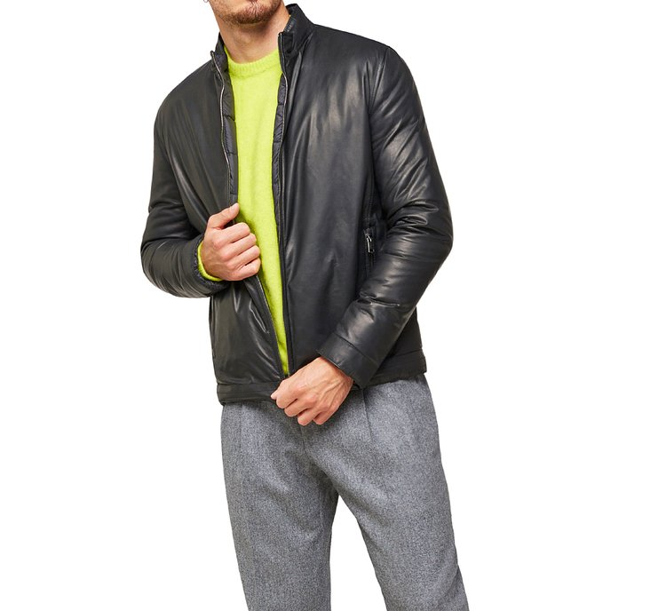 Padded double-faced jacket