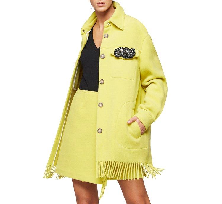Roomy wool jacket