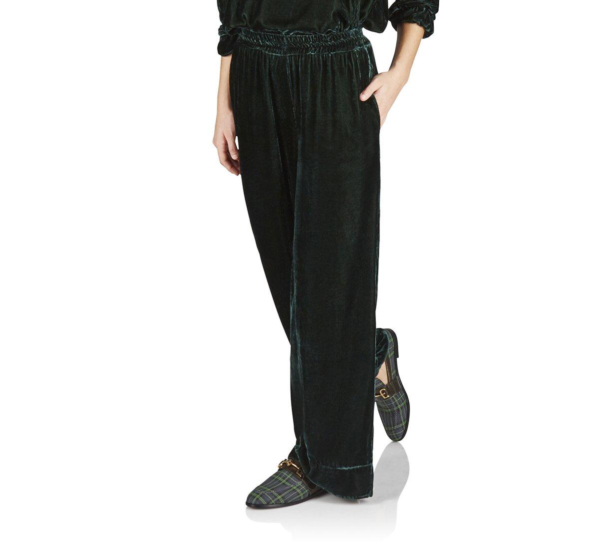 Pantalone largo in morbida viscosa