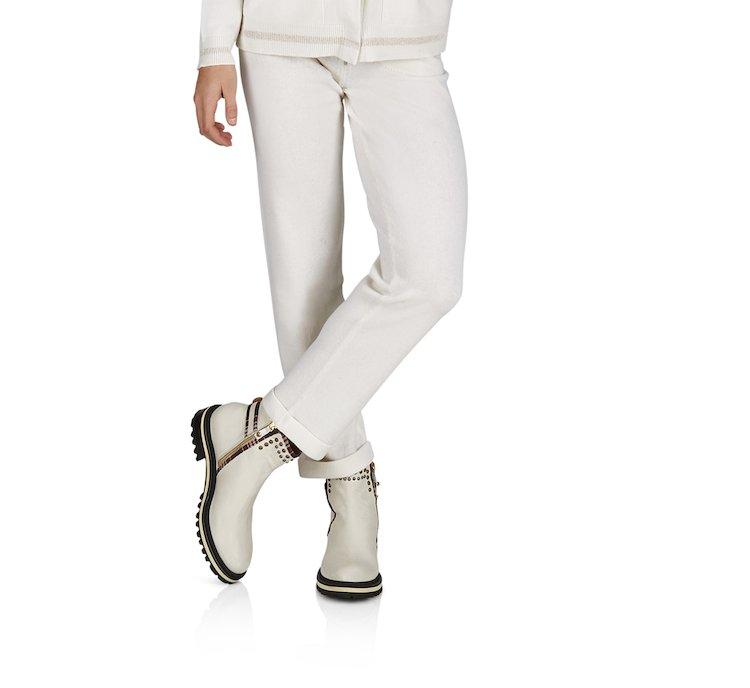 Pantalone in calda lana