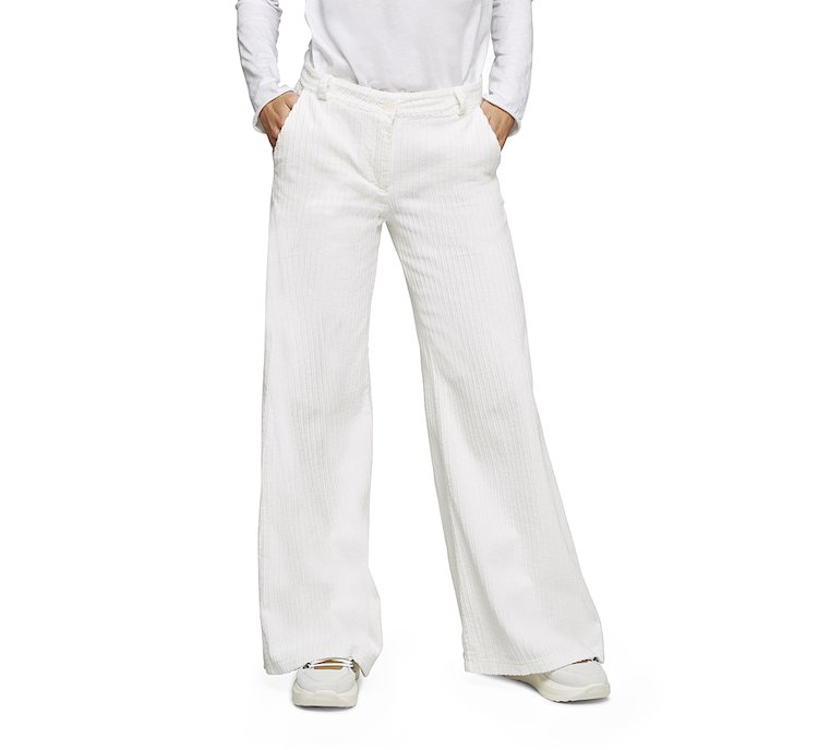 Palazzo pants in soft cotton