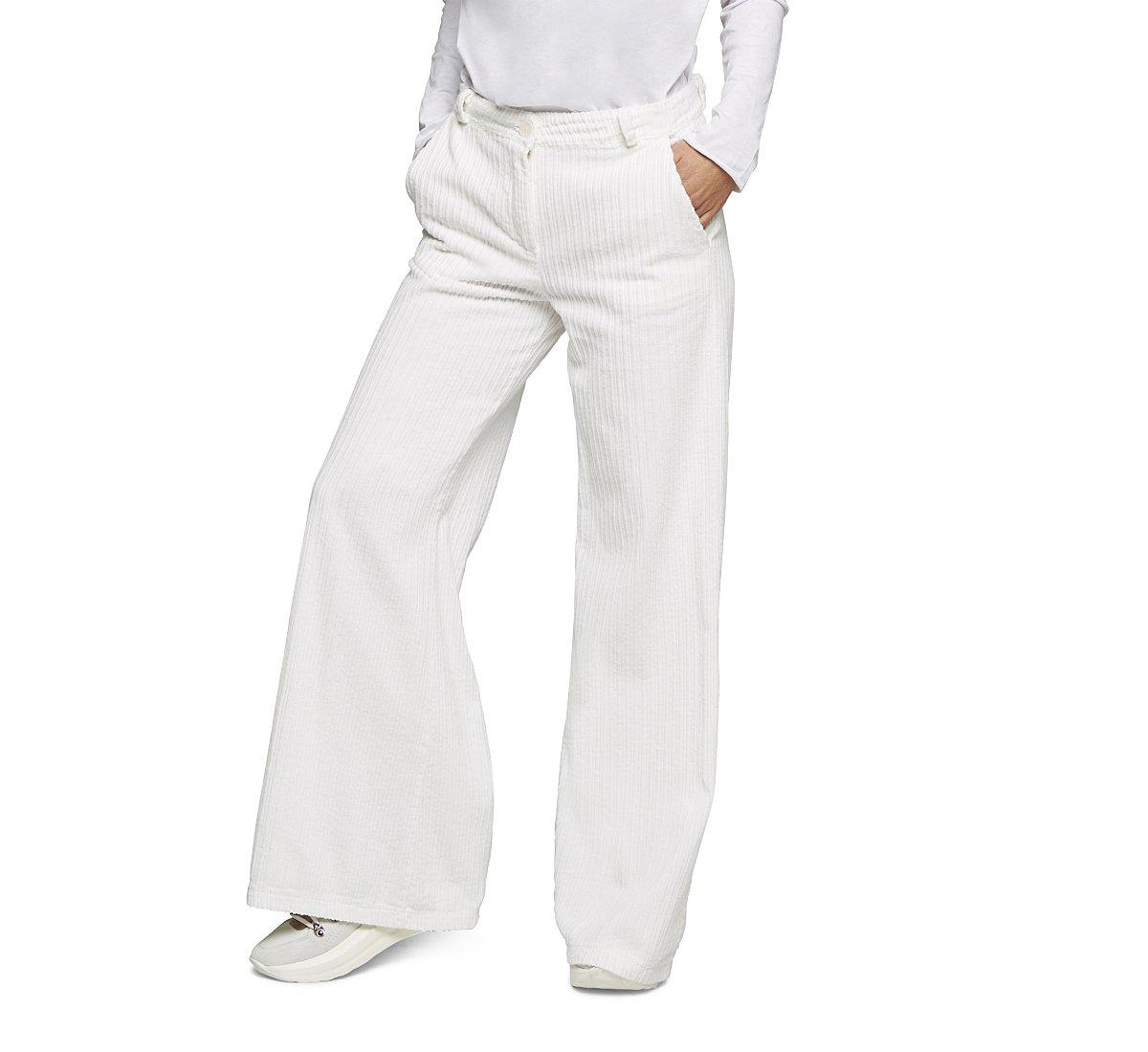 Pantalone palazzo in morbido cotone