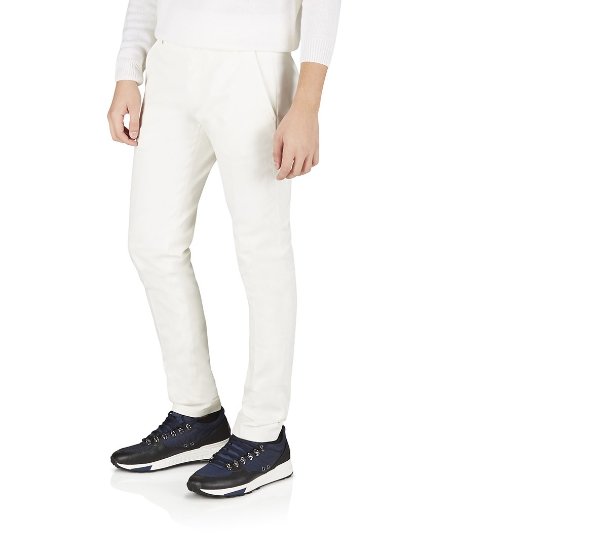 Хлопковые брюки-чинос
