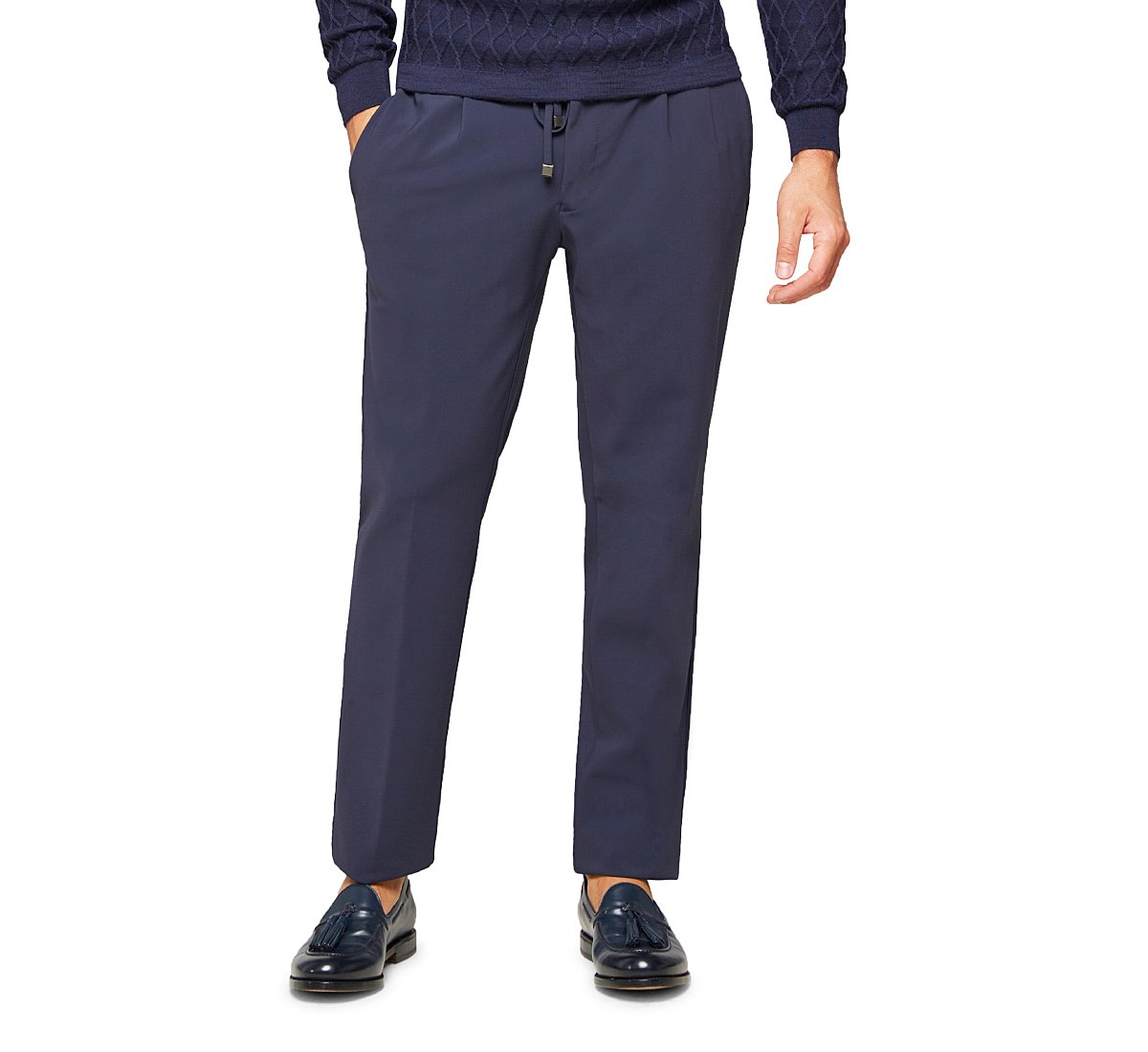 Jogger-fit trousers