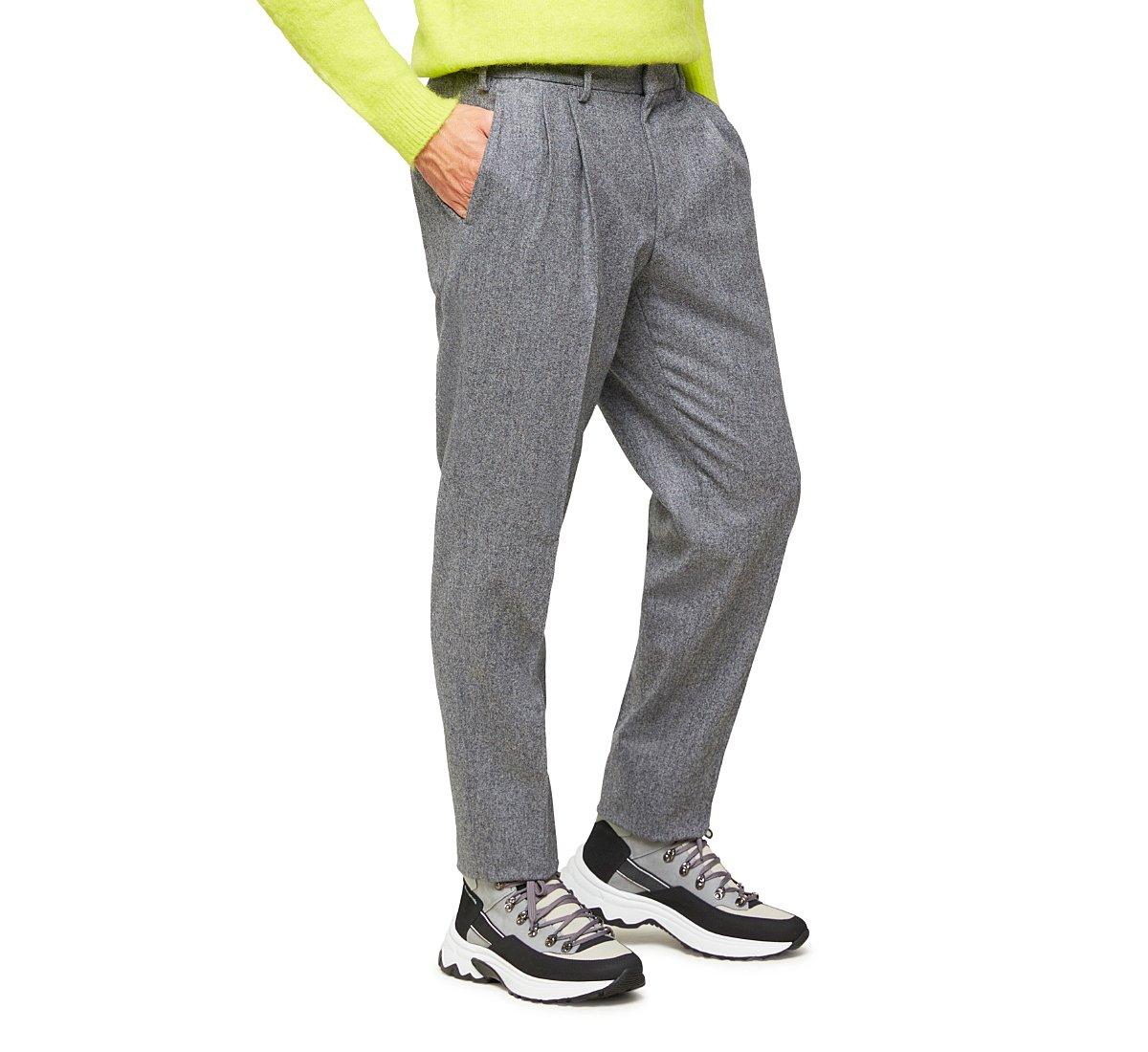 Wool trousers