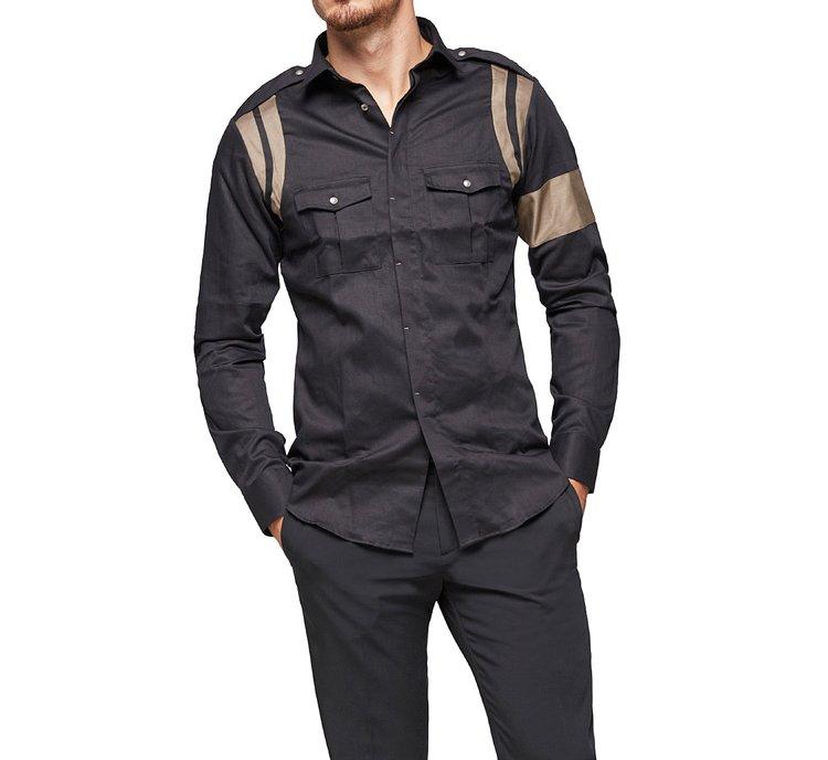 Camicia stile western
