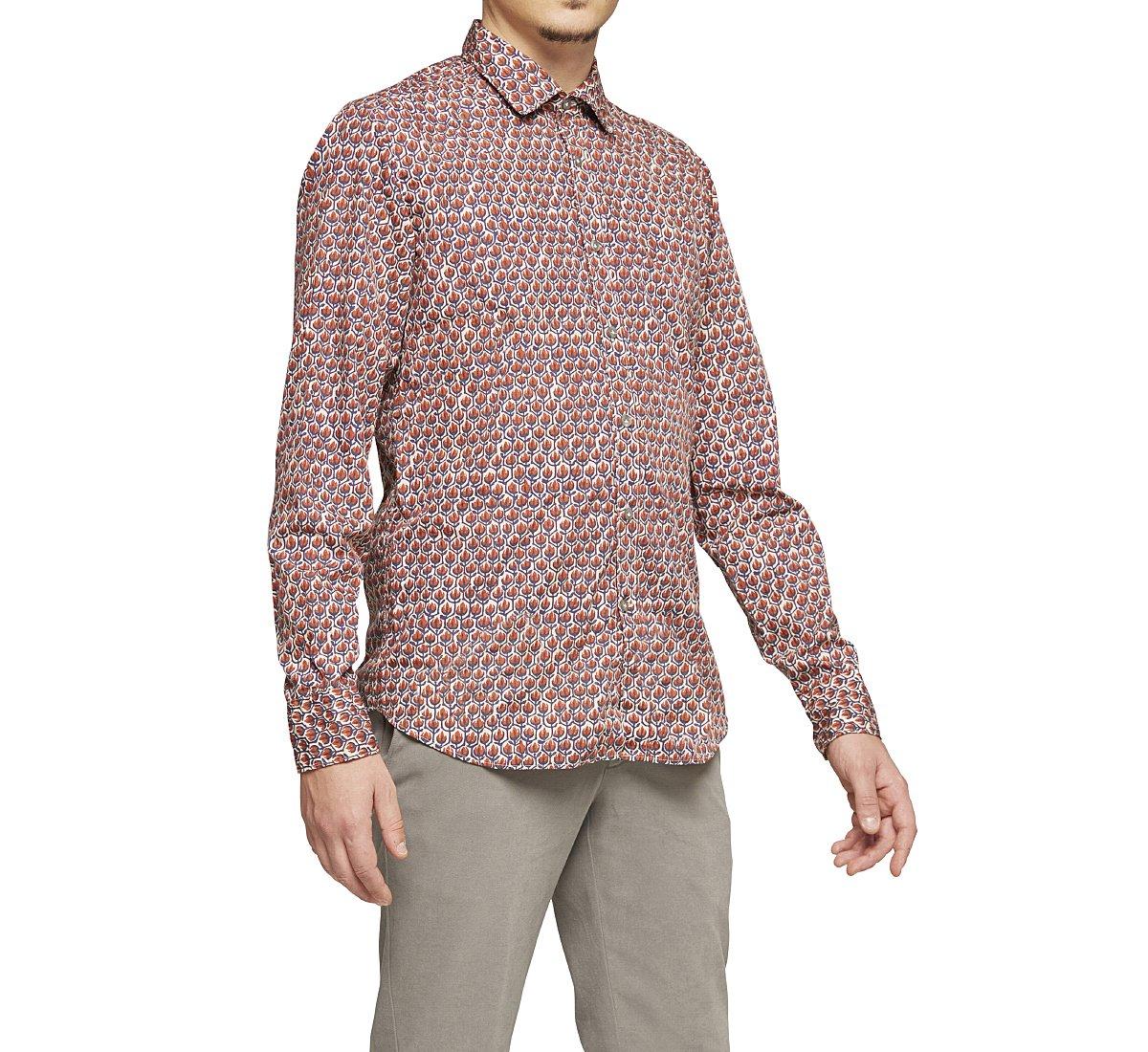 Camicia regular fit in cotone